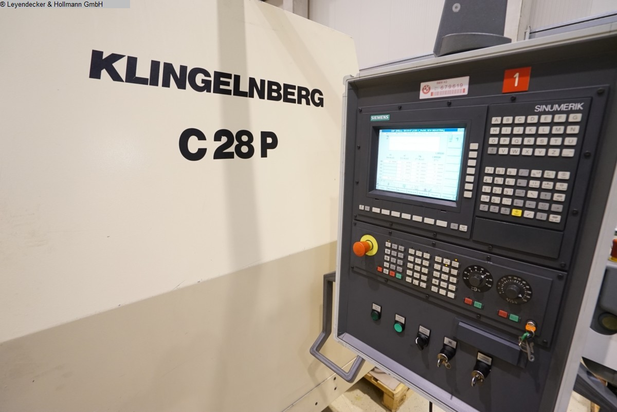 KLINGELNBERG - Spiral Bevel Gear Cutting Machine - 02824